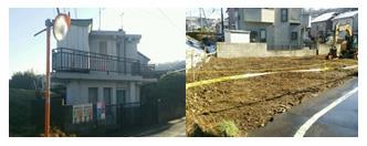 東京都八王子市 34坪RC造2階建て住宅