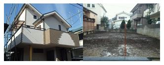 東京都立川市 20坪木造2階建て住宅