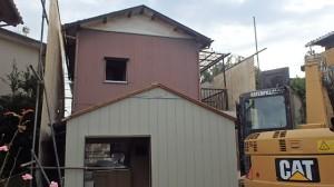 川越市 木造2階建て住宅解体工事