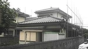 福生市 木造2階建て住宅解体工事1