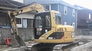 福生市 木造2階建て住宅解体工事2