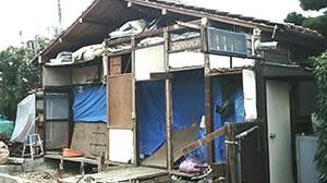 府中市 26坪木造2階建て住宅切り離し解体5