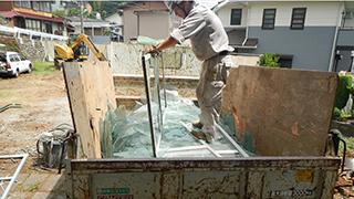 青梅市 鉄骨ブロック造3階建てアパート解体工事5(内装撤去)