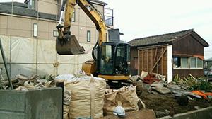 練馬区 木造2階建て45坪解体工事2
