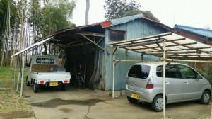 所沢市 物置小屋解体工事