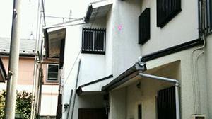 昭島市 木造2階建て住宅2×4縁切り手壊し解体1