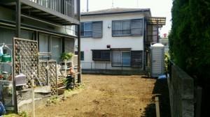 昭島市 木造2階建て住宅2×4縁切り手壊し解体3
