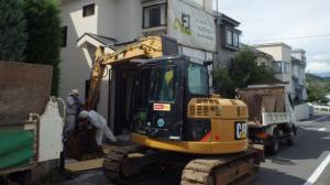 八王子市 木造2階建て住宅解体工事