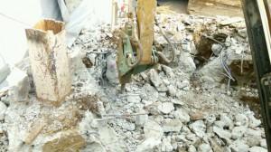 世田谷区 鉄骨造3階建手壊し解体2