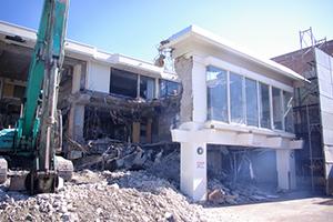 RC造住宅の解体工事