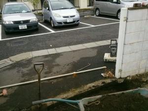外構工事(門扉)