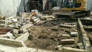 武蔵野市 木造1階建て住宅手壊し