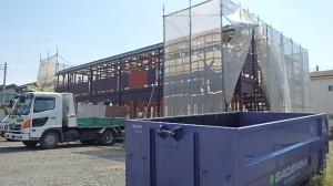 所沢市 木造2階建てアパート改修解体工事3