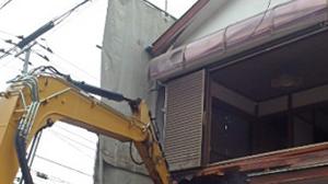 多摩市 木造2階建て住宅解体工事