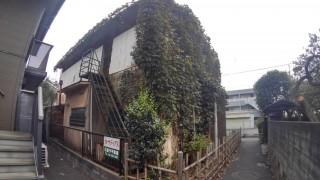 所沢市 木造解体工事 足場組立シート養生 内装撤去作業