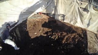 立川市 木造解体工事3 機械解体工事 コンクリート基礎、地中障害物撤去工事