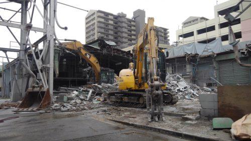 八王子市工場解体工事2 本体解体工事