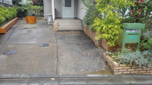 日高市コンクリート土間斫り工事