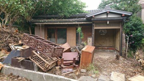 川越市郭町 木造平屋 解体完了