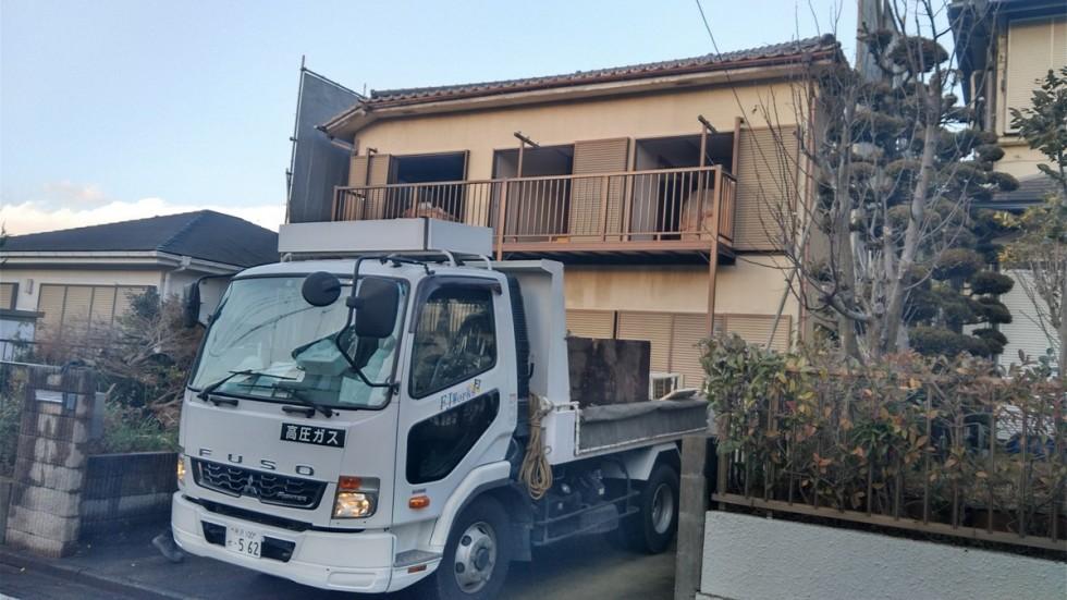 多摩市 木造住宅 解体工事