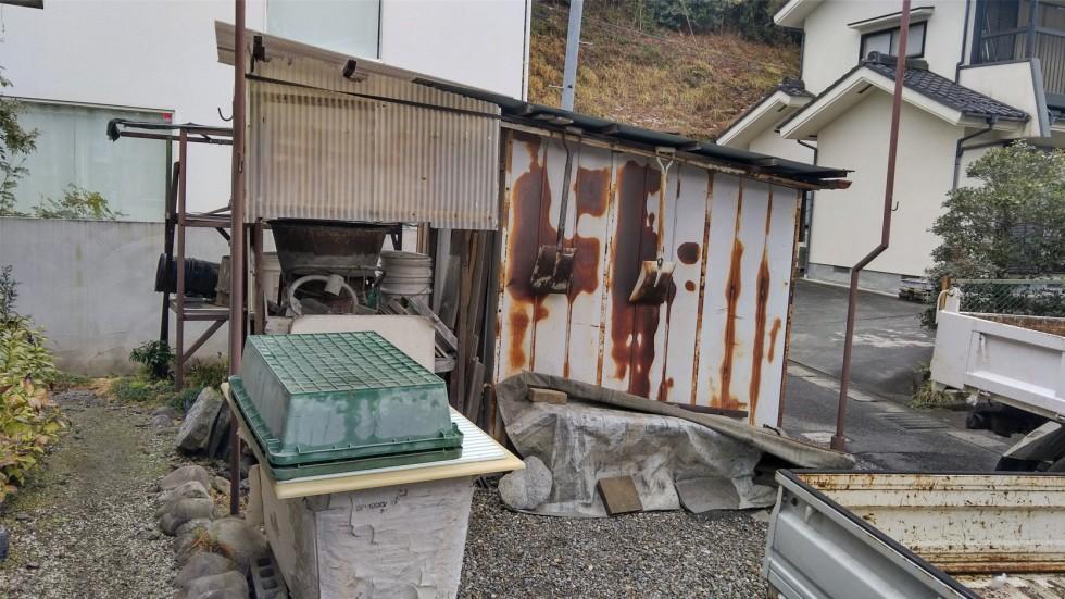 青梅市 倉庫 解体 撤去工事