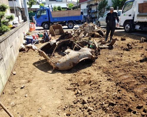 立川市 木造住宅 解体工事3