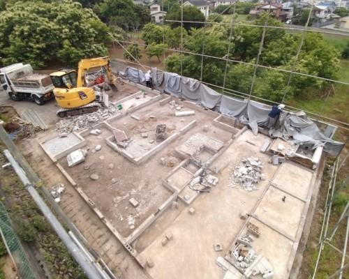 日高市 木造住宅 解体工事 2