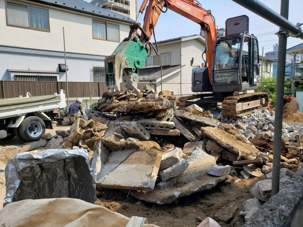 立川市 木造住宅 解体工事2