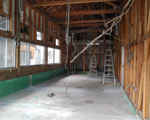 日高市 店舗内装 スケルトン解体工事