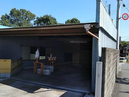 青梅市 木造 車庫 工場解体工事