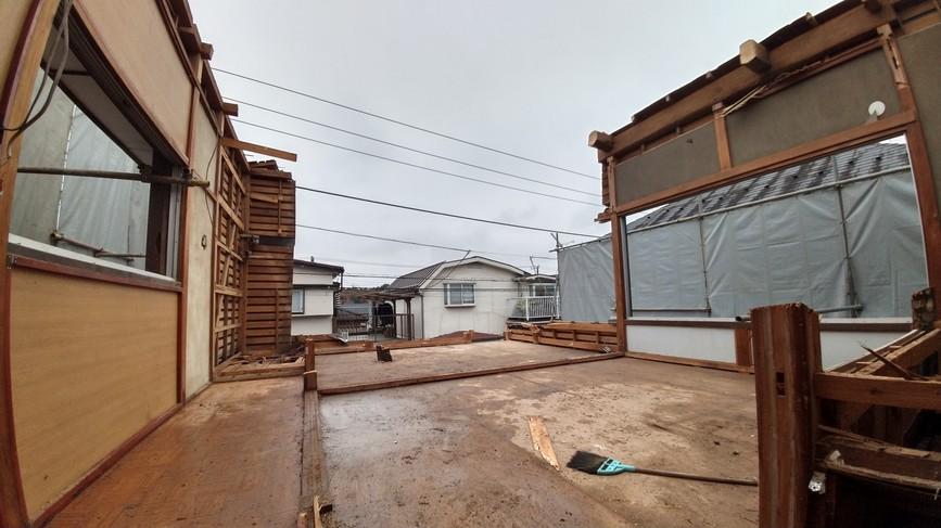 青梅市 木造住宅 一部手作業 解体工事