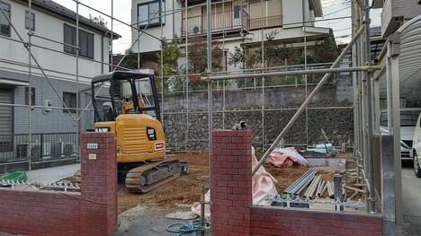 青梅市 木造住宅 一部手作業 解体工事 2