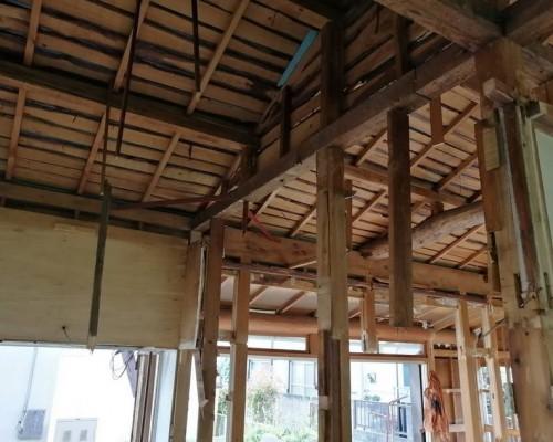 立川市 木造住宅 全手壊し作業解体工事